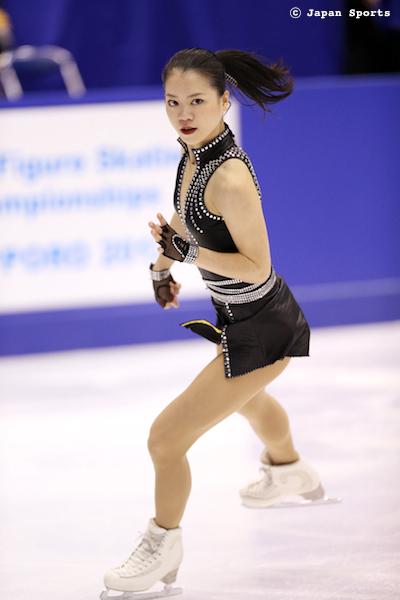 Akiko SUZUKI 鈴木明子 © Japan Sports