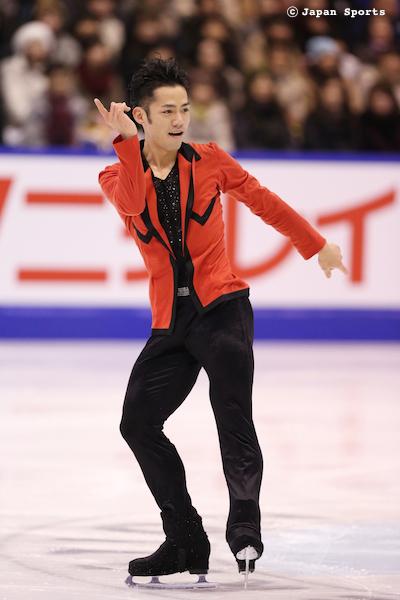 Daisuke TAKAHASHI 高橋大輔 © Japan Sports