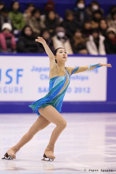 Kanako MURAKAMI 村上佳菜子 © Japan Sports