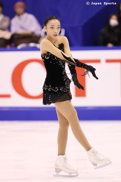 Rika HONGO 本郷理華 © Japan Sports