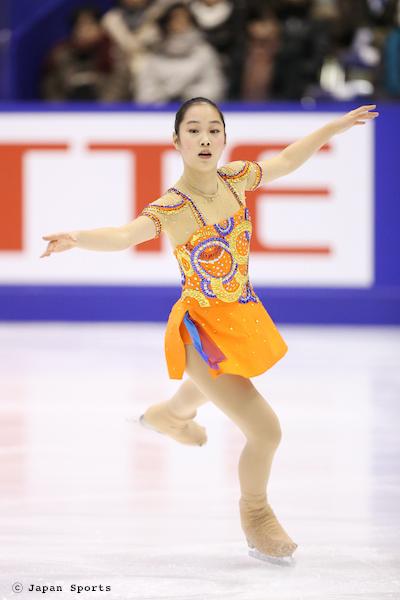 Riona KATO 加藤利緒菜 © Japan Sports