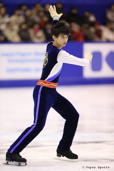 Ryuju HINO 日野龍樹 © Japan Sports