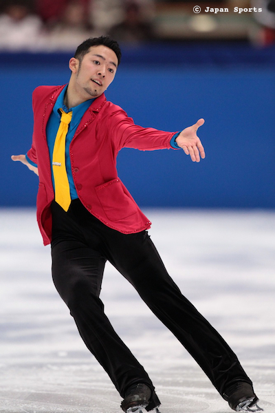 近藤琢哉 Takuya KONDOH 2010-2011SP Lupin III @ 2010 All-Japan National Championships © Japan Sports