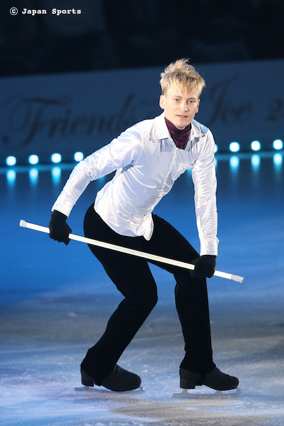 Kristoffer BERNTSSON クリストファー・ベルントソン © Japan Sports
