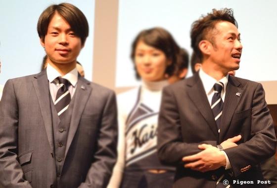 Tatsuki MACHIDA 町田樹 Daisuke TAKAHASHI 高橋大輔 © Pigeon Post