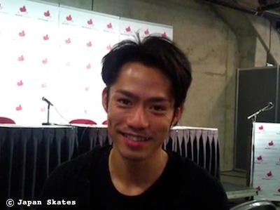 Daisuke TAKAHASHI 高橋大輔 © Japan Skates