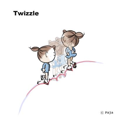 Twizzle ツイズル © Paja