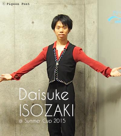 Daisuke ISOZAKI 磯崎大介選手 © Pigeon Post