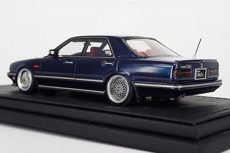 IG1087 Nissan Gloria Cima (Y31) Dark Blue -2.jpg