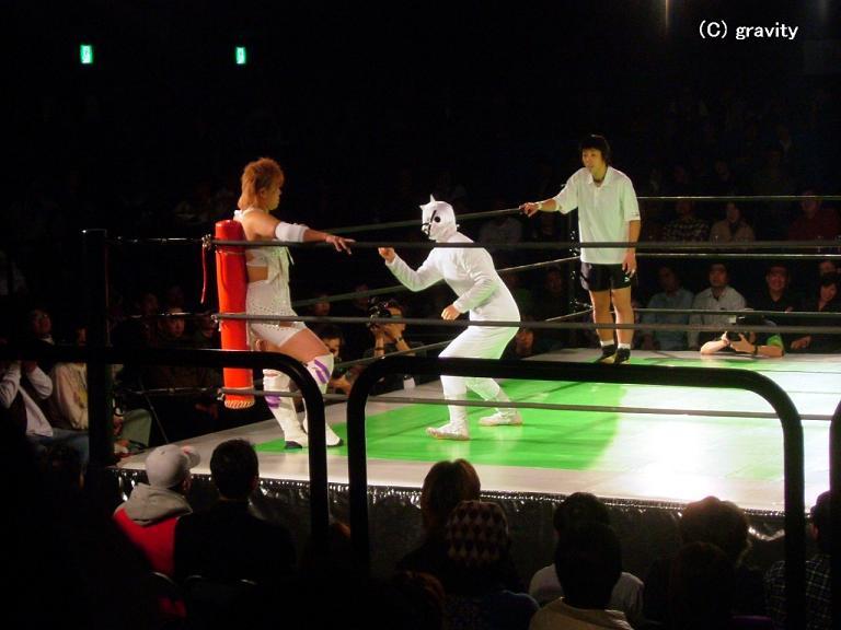 前川久美子vsマスク・ド・モナー