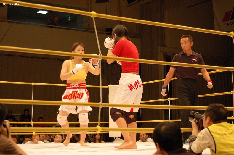岡田円vs立分結