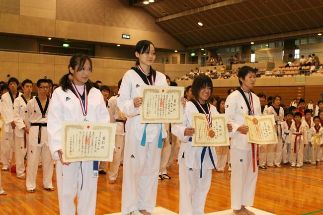 全日本テコンドー選手権