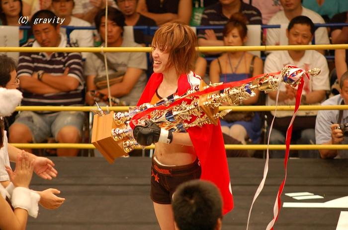 MIKU(クラブバーバリアン/DEEP女子ライト級王者)