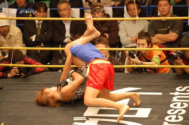 渡辺久江vs.ゲンカーム・ルークチャオポーカム