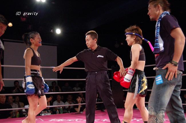 グレイシャア亜紀vs.杉貴美子
