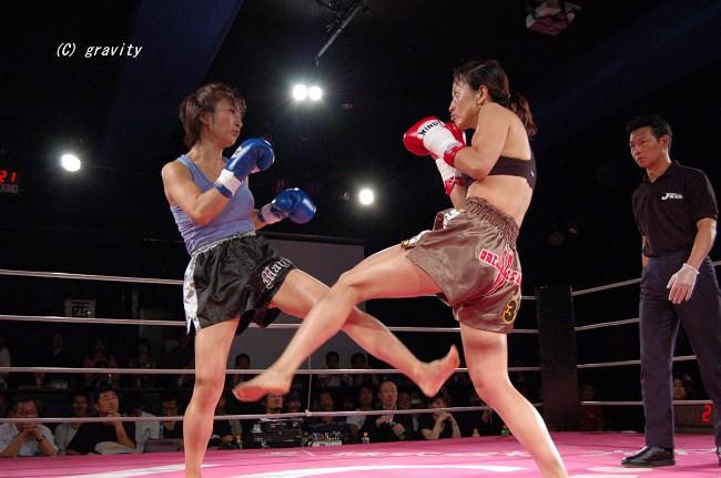 星野久子vs.まゆみ