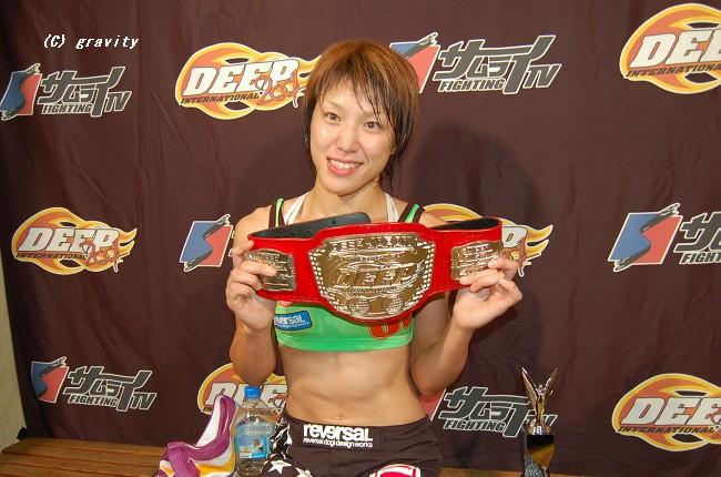 女子格闘家MIKU