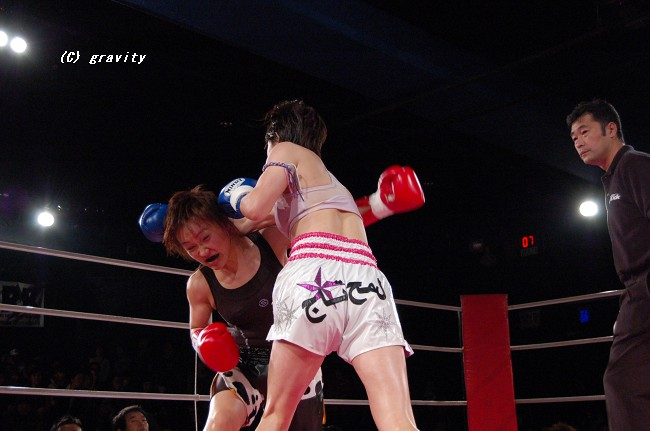女子キックボクシング
