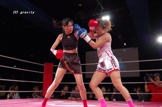 成沢紀予vs.大石綾乃