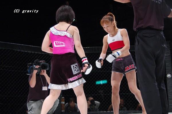 大室奈緒子vs.玉田育子