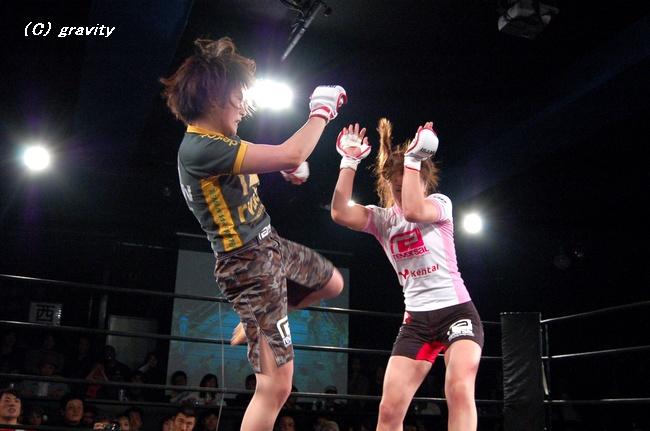 石岡沙織vs.長野美香