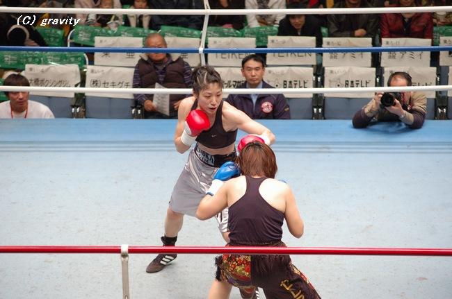 石川範子vs.藤本奈月