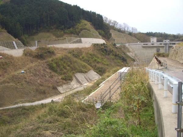 奈良市に建設中のダム