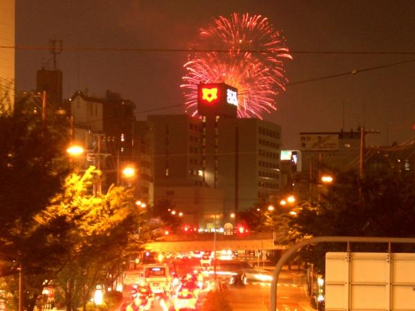 淀川の花火