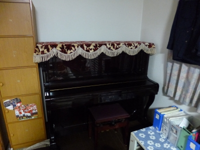 ピアノあった写真
