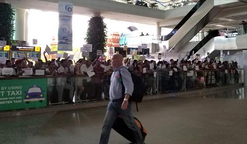 バリの空港
