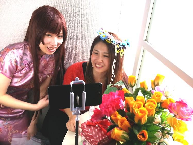 リアライズ 柏木智美&天塚鈴 生テレ