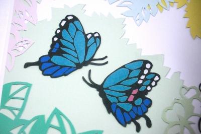 切り絵 蝶の画像 : 紙辞書 : すべての講義