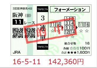 京都11R3単100627