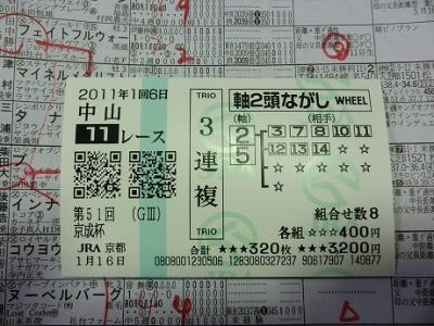 京成杯110116
