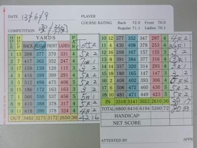 近江CC(13/6/9)