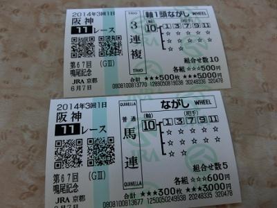 6/7(土)京都競馬場へ