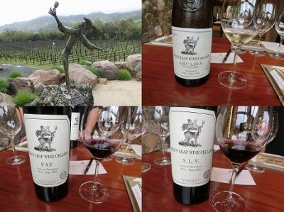 Napa Valleyでワイン