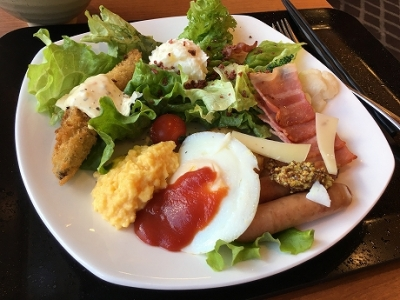 メルキュール札幌 朝食バイキング