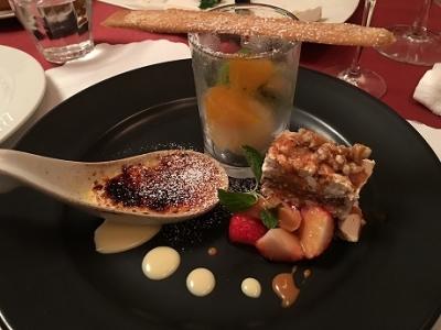 ル・デッサンで夜ご飯