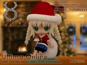 ねんどろいど風Happy Holidays !