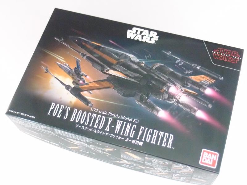 STAR WARS 1/72 ブーステッド・Xウイング・ファイター ポー専用機 (スター・ウォーズ 最後のジェダイ)