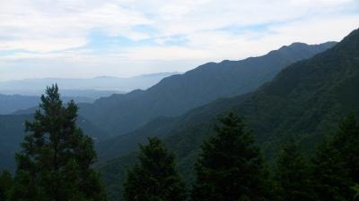 三峰神社よりの展望