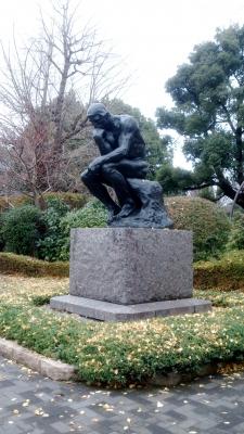 国立西洋美術館ロダン考える人