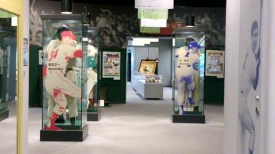 野球殿堂博物館内