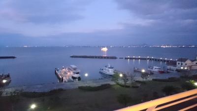 琵琶湖夕暮れ
