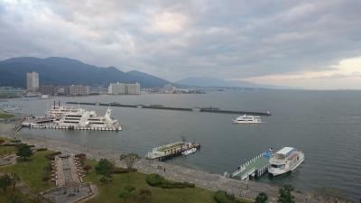 琵琶湖ホテルからの琵琶湖