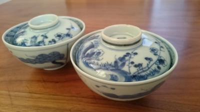 益子陶器市 骨董 茶碗蒸し用茶碗