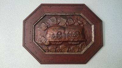 益子骨董市 銅板