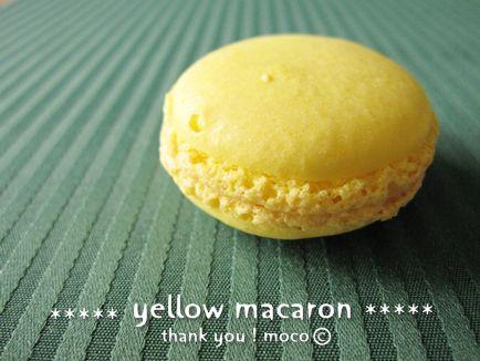 レモン色のマカロン♪