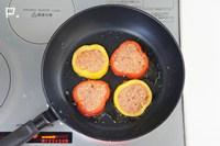 フライパンで両面を焼く。